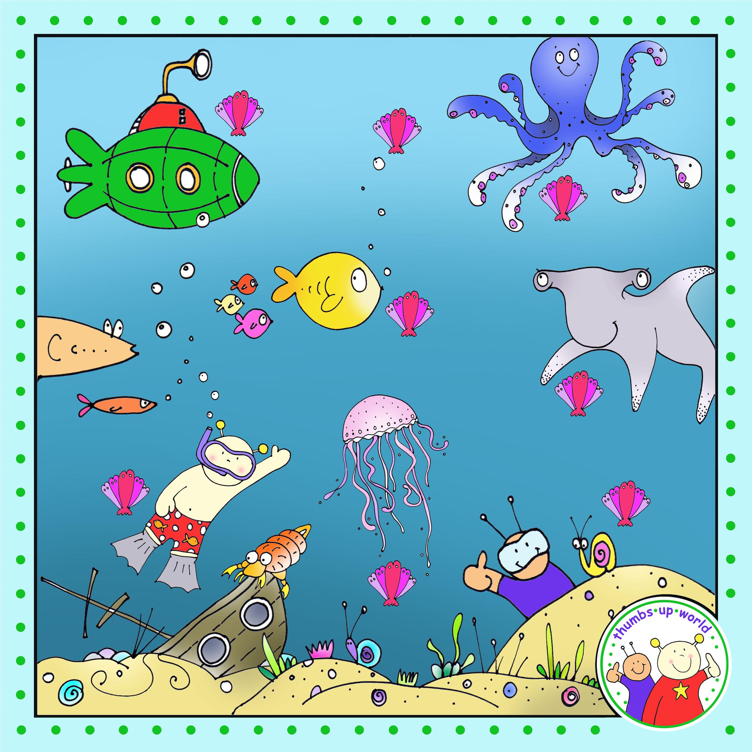 Underwater board